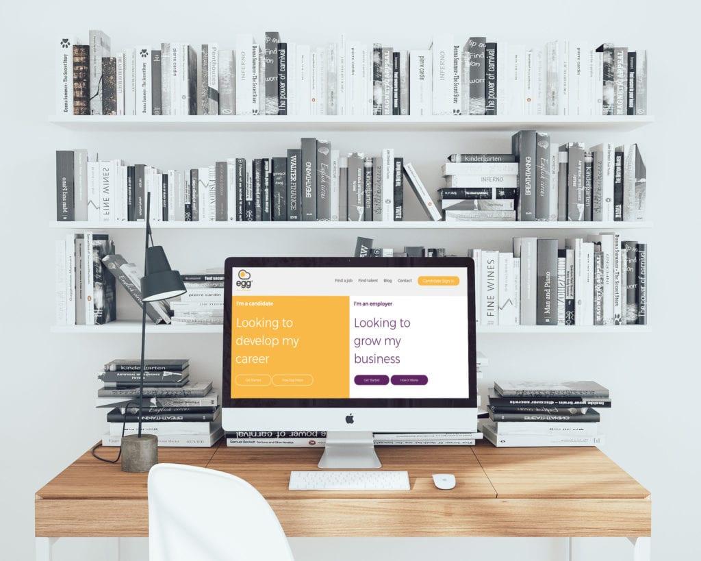 Egg Recruitment Website Design