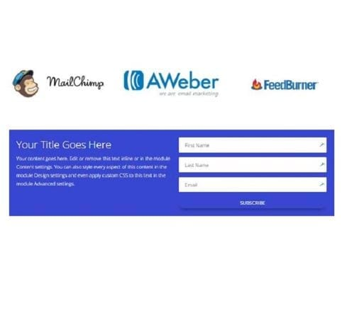 Email Opt-in Module | Divi Builder