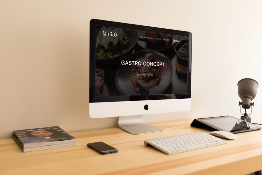 MIRO Website Design