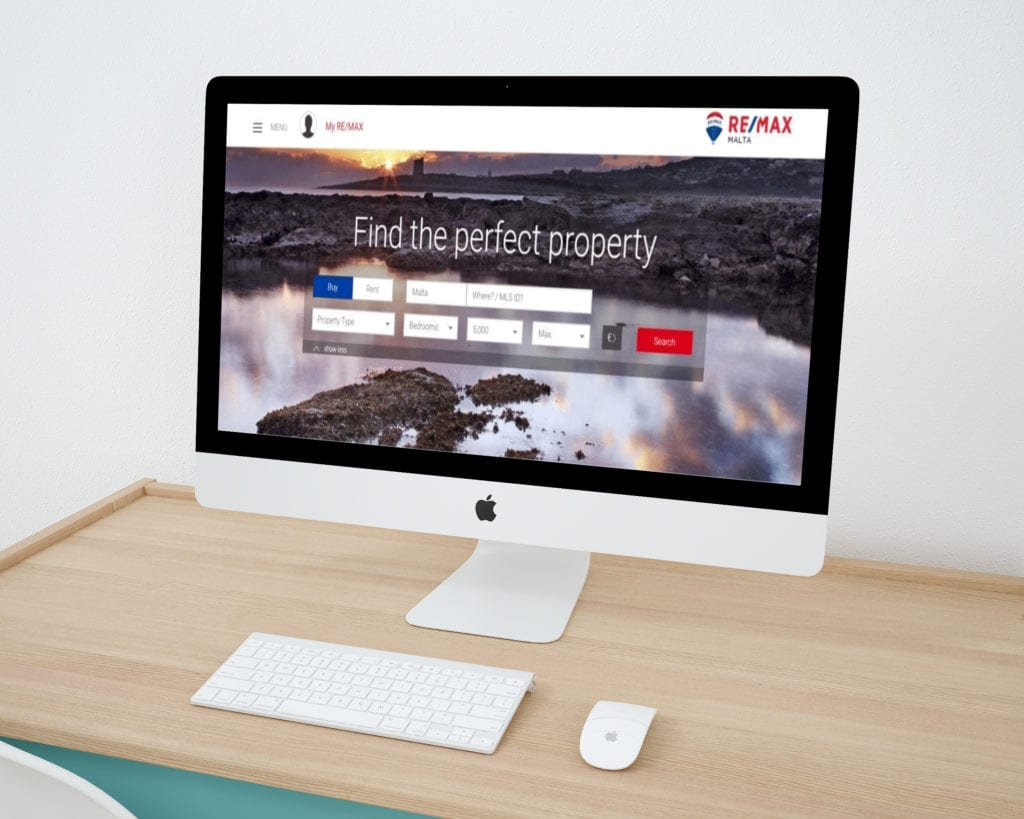 Remax Malta Website Design