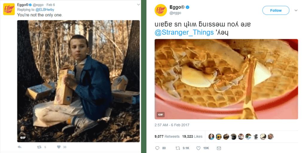 Kellogg's Eggo marketing campaign