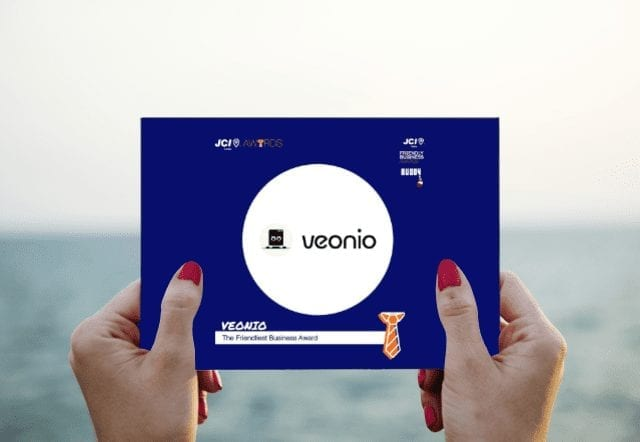 VEONIO Gets Nominated for the Friendliest Business Award