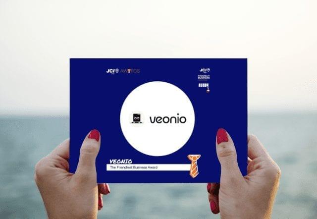 VEONIO friendly business award nomination