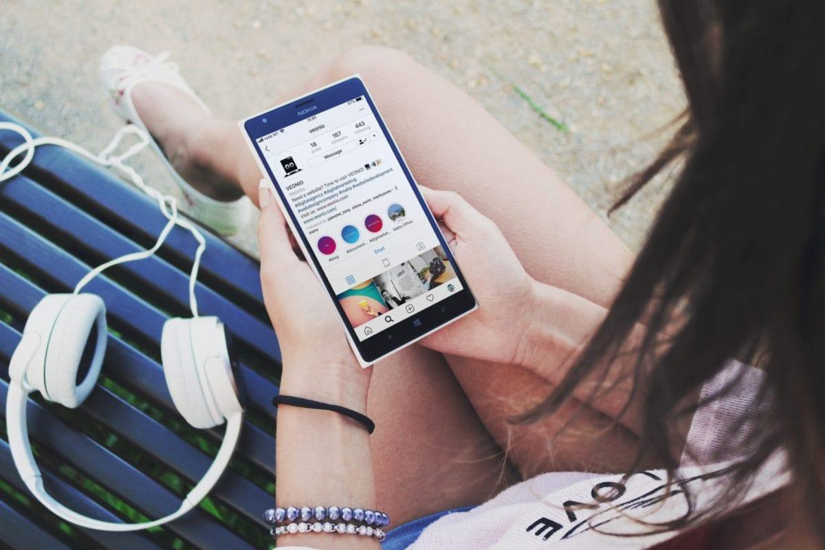 VEONIO Instagram Profile
